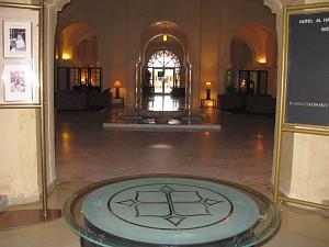 le hall de l'Alahambra