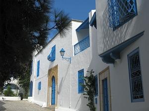 Le bleu de Sidi Boussaïd
