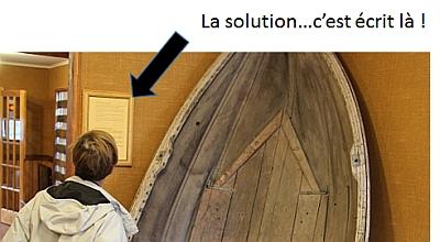 Devinette au Musée de Puerto Natales Solution